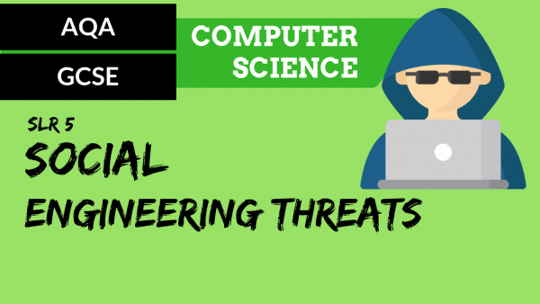 AQA GCSE SLR5 Social engineering threats
