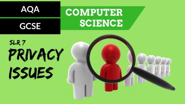 AQA GCSE SLR7 Privacy issues