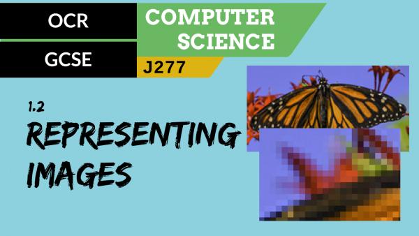 OCR GCSE (J277) SLR 1.2 Representing images