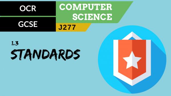OCR GCSE (J277) SLR 1.3 Standards