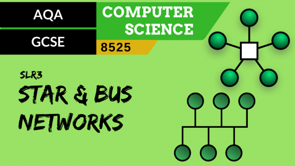 GCSE AQA SLR3 Star and bus network topologies