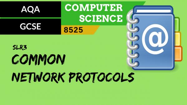 GCSE AQA SLR3 Common network protocols