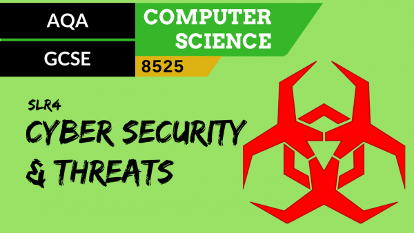 GCSE AQA SLR4 Cyber Security and cyber security threats