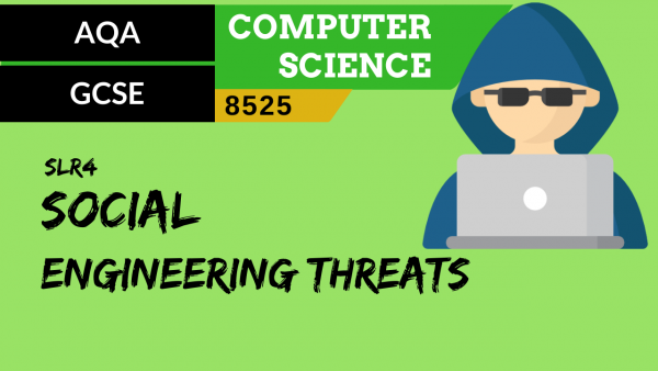 GCSE AQA SLR4 Social engineering threats