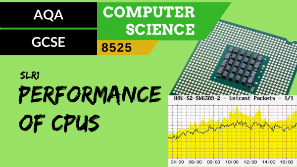 GCSE AQA SLR1 The performance of CPUs