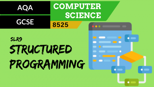 GCSE AQA SLR9 The structured approach to programming