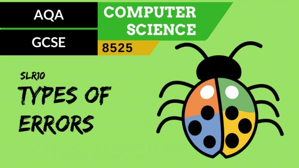 GCSE AQA SLR10 Different types of errors