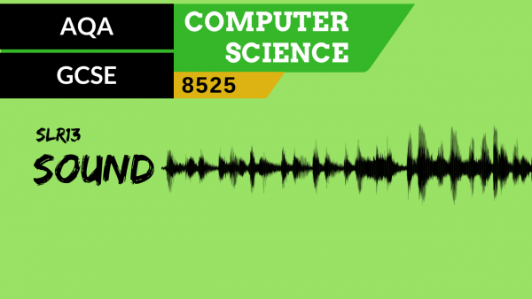 GCSE AQA SLR13 Representing sound