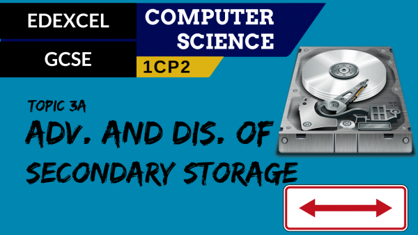GCSE EDEXCEL Topic 3A Suitable storage devices & storage media