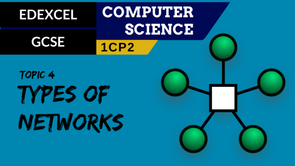 GCSE EDEXCEL Topic 4 Types of networks