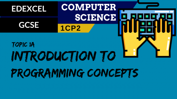 GCSE EDEXCEL Topic 1A Introduction to programming concepts