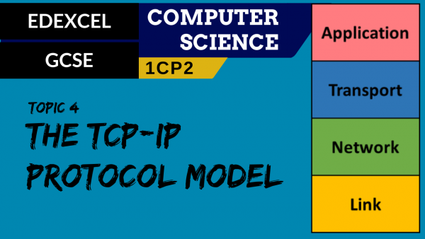 GCSE EDEXCEL Topic 4 TCP-IP protocol model