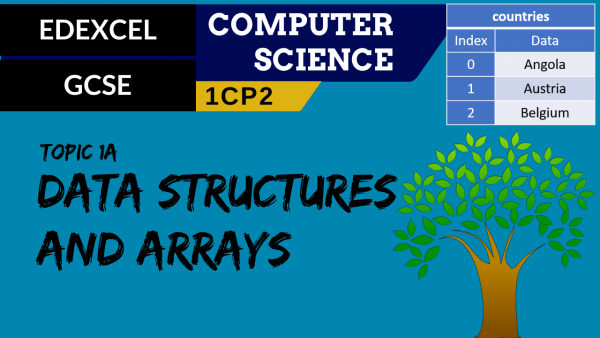 GCSE EDEXCEL Topic 1A Data structures and arrays