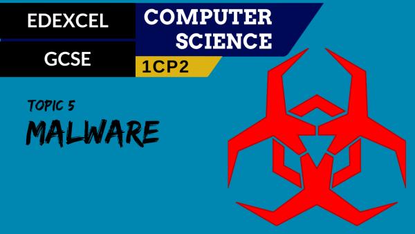 GCSE EDEXCEL Topic 5 Malware