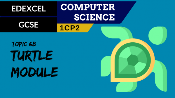 GCSE EDEXCEL Topic 6B The Turtle module