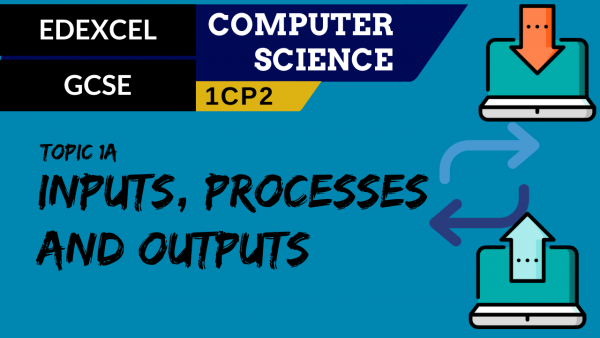 GCSE EDEXCEL Topic 1A Inputs, processes and outputs